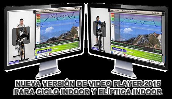 Nuevo Player Ciclo Indoor